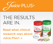 Juice Plus+® provides nutrition from 17 different fruits, vegetables, and grains in convenient and inexpensive capsule form.