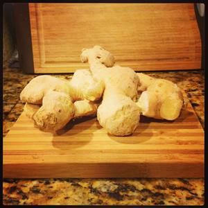 frozen ginger
