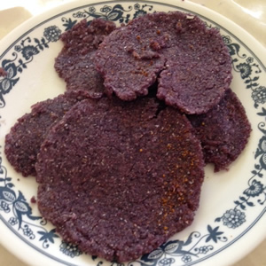 Homemade Organic Blue Corn Tortillas